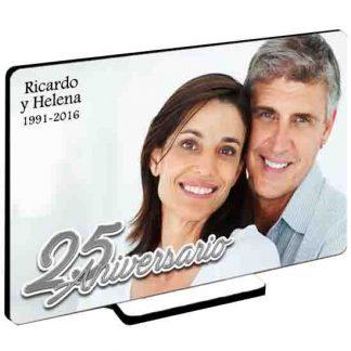 Cuadro personalizado bodas de plata