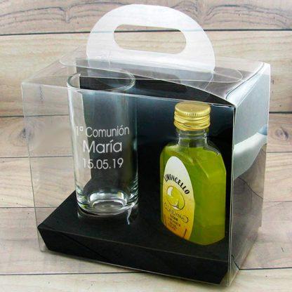 vaso personalizado comunion