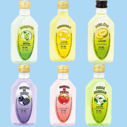 licor para chupitos personalizados