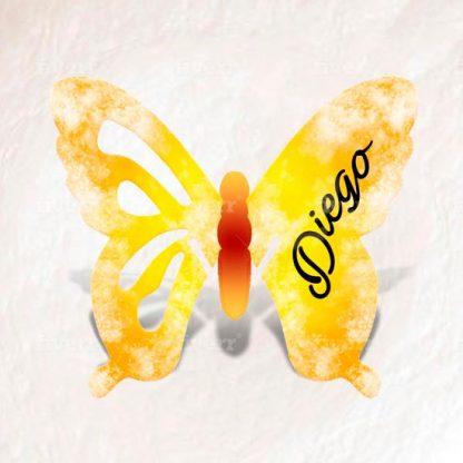 mariposas banquete personalizadas