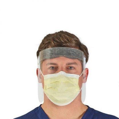 Visera protección facial