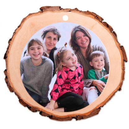 adornos de madera personalizados para navidad