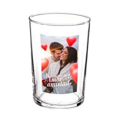Vaso personalizado día de los enamorados